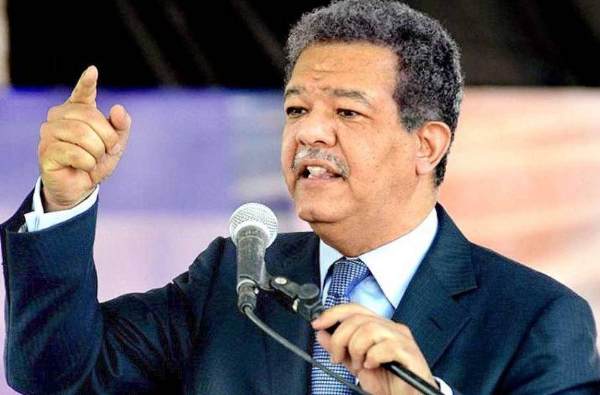 Leonel: «Desde hoy asumo el compromiso de ganar las elecciones de 2020»