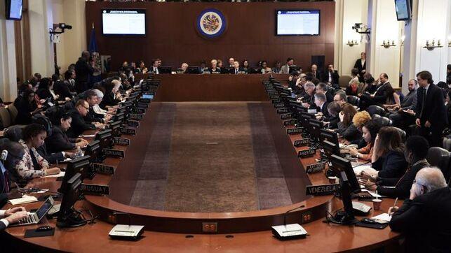 Veintiséis países piden en la OEA elecciones «urgentes» en Bolivia