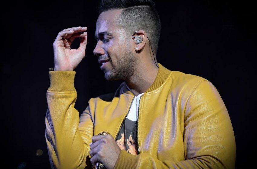 Romeo Santos pospone concierto que haría hoy en La Vega
