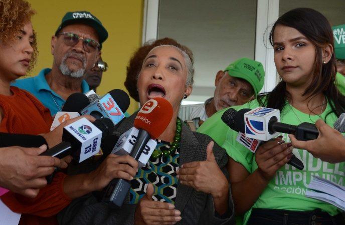 Marcha Verde lleva JCE lista aspirantes «corruptos»