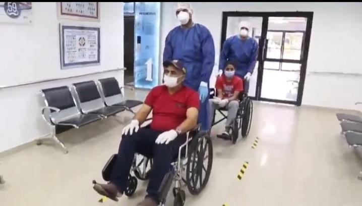 VÍDEO| Paciente curado de COVID-19 habla una vez finalizada su cuarentena.