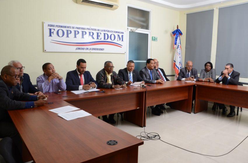 Partidos Políticos solicitan postergar elecciones por coronavirus.