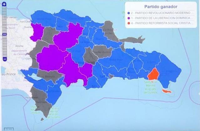 EN FOTOS │PRM vira la torta y gana más municipios que PLD