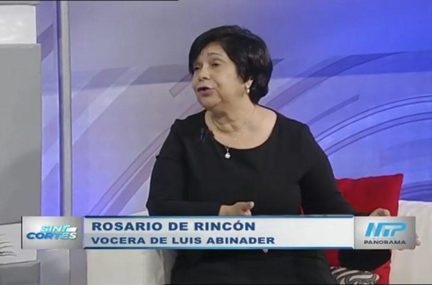 El PLD ha perdido de manera vergonsoza / Rosario Rincón