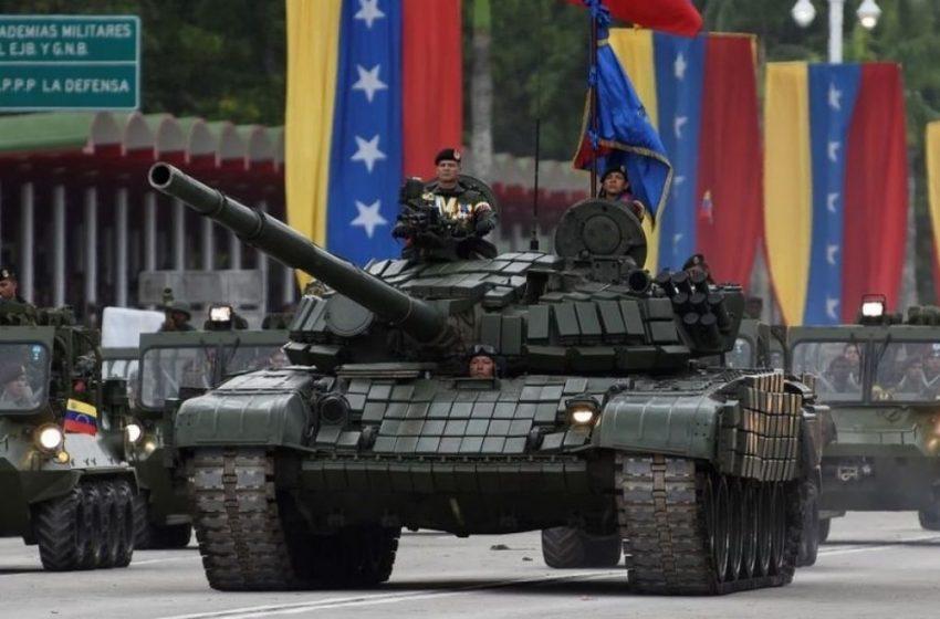 VÍDEO│Maduro moviliza la artillería en respuesta a maniobras navales de EEUU.