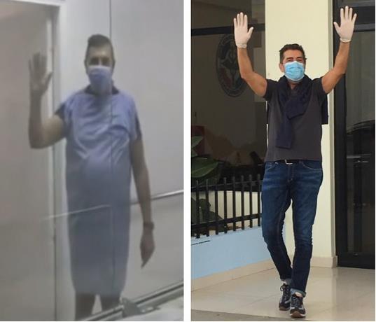 El italiano Pascualini despedido con inmensa alegría en hospital Ramón de Lara
