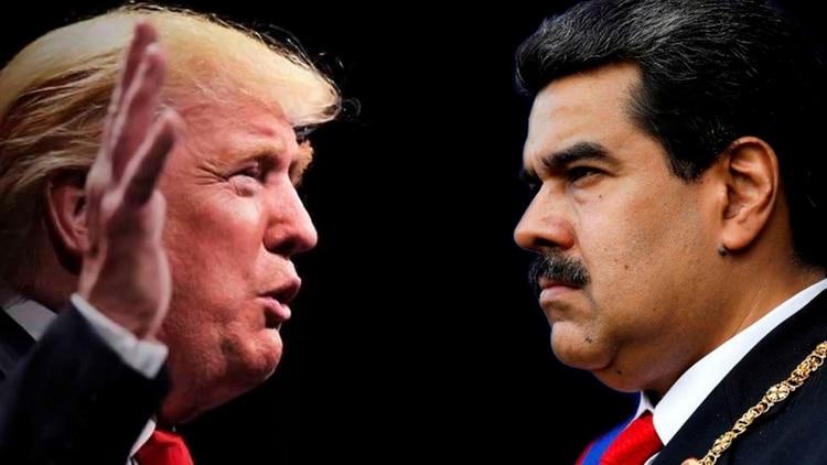 """Trump matiza que solo se reuniría con Maduro para discutir """"una salida pacífica del poder"""""""