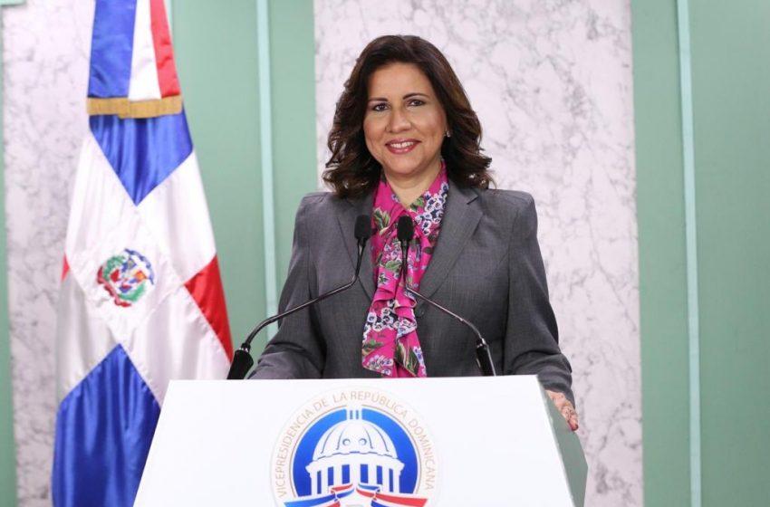 Margarita Cedeño: Gobierno está evaluando más de un millón de solicitudes para asistencia social