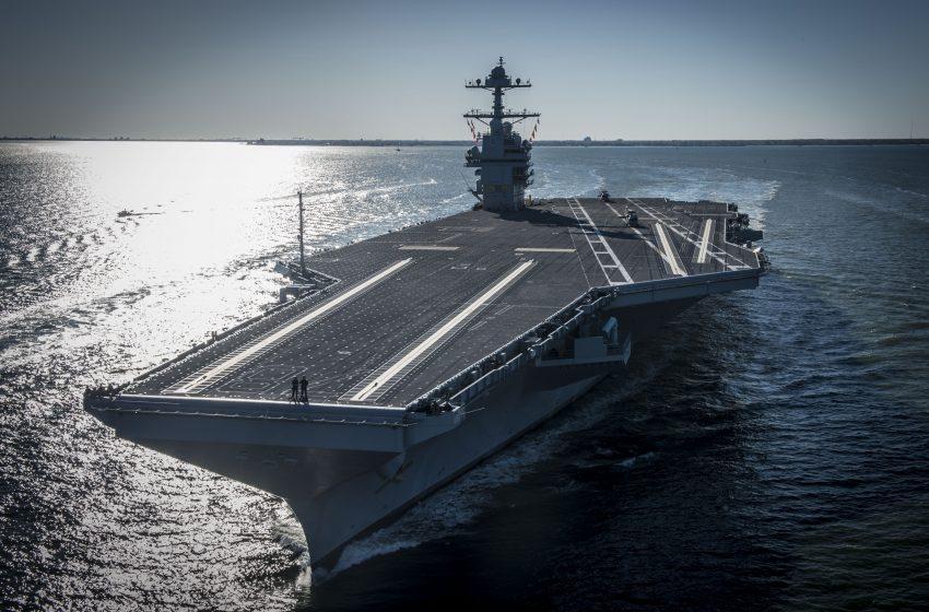 Al USS Gerald R. Ford, el portaaviones más poderoso del mundo, se le tapan los inodoros
