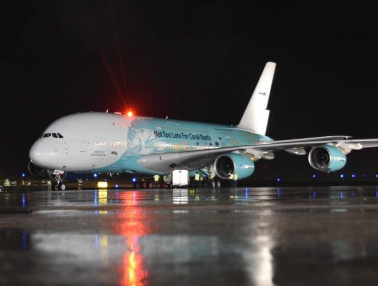 IDAC informa arribo del avión más grande del mundo transportando materiales para combatir el COVID-19