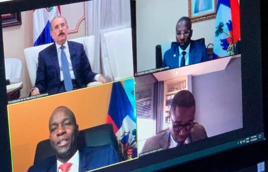 Danilo sostuvo reunión con presidente Haitiano previo a tomar medidas de desescalamiento