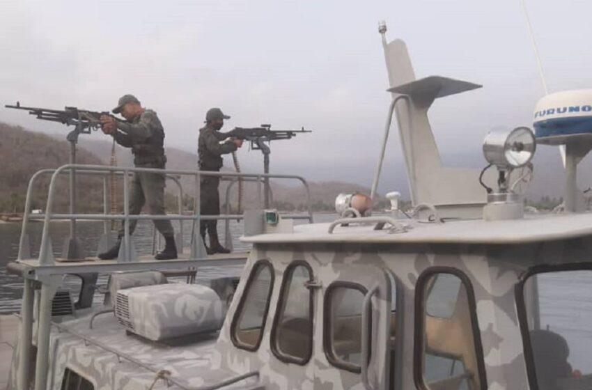 La Armada de Colombia afirma que tres lanchas de combate incautadas por Venezuela fueron arrastradas allí por la corriente