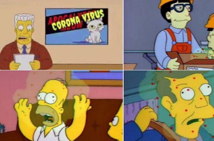 """""""Supongo que lo hicimos"""": guionista de 'Los Simpson' admite que la serie predijo el año 2020"""