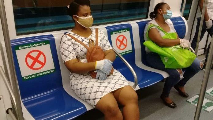 Salud Pública llama conservar la distancia y a respetar los protocolos antiepidémicos en medios de transporte