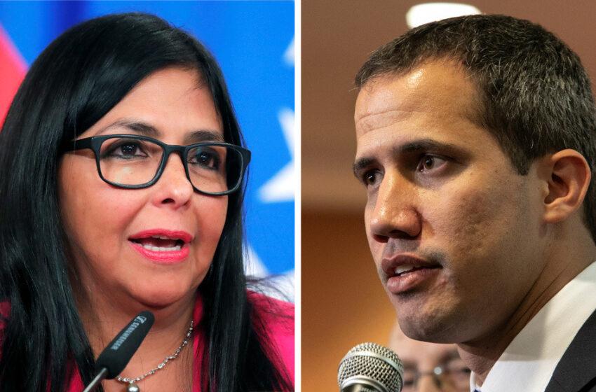 """Delcy Rodríguez acusa a Guaidó de """"delincuente de cuello blanco"""" por intentar apropiarse del oro de Venezuela en colusión con el Banco de Inglaterra"""