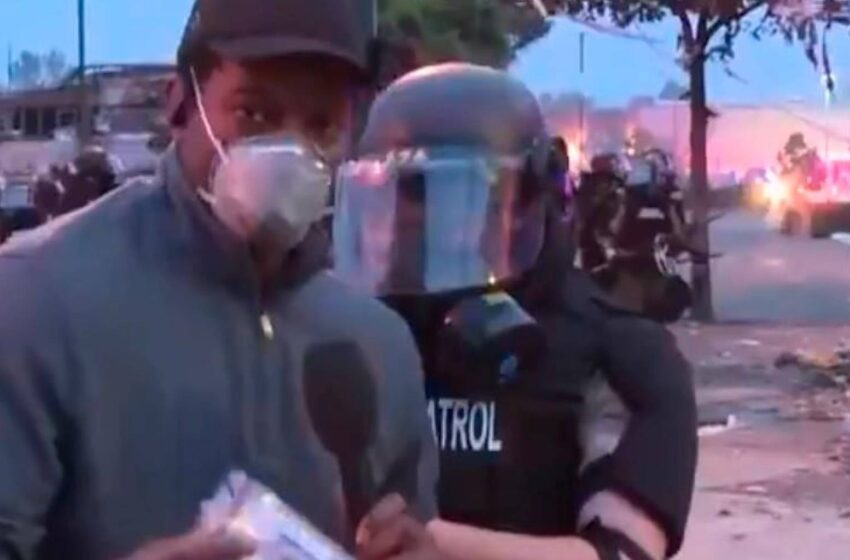 Liberan a equipo de CNN que fue arrestado mientras cubría las protestas de Minneapolis