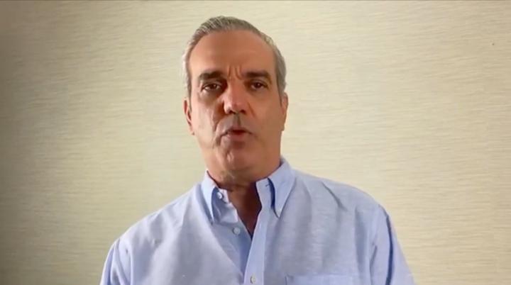 VÍDEO   Luis Abinader confirma haberse contagiado de COVID-19
