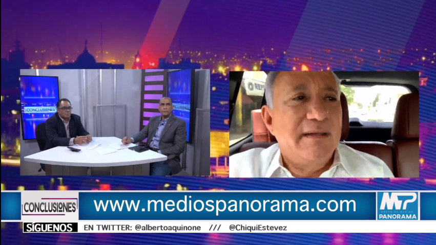Conclusiones EN Vivo Antonio Taveras Guzmán / Candidato a senador Provincia Santo Domingo