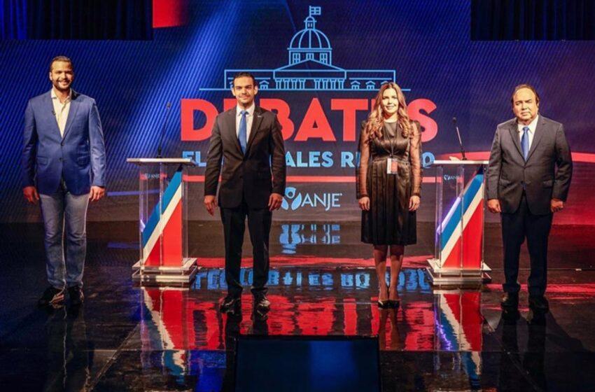 ANJE celebra con éxito debate entre candidatos al Senado por el DN
