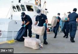 Hallan 2 millones de dólares en aguas del mar Caribe