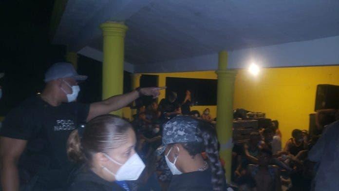 Ministerio Público frusta fiesta clandestina de extranjeros en Sabana Perdida
