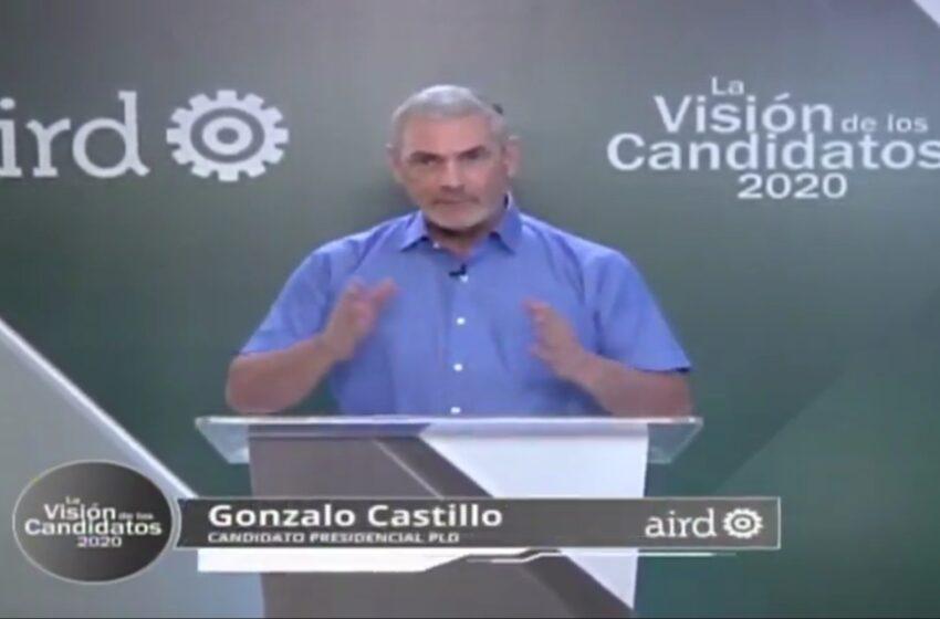 Gonzalo sustenta su plan de gobierno en tres pilares: La salud, la economía y los empleos