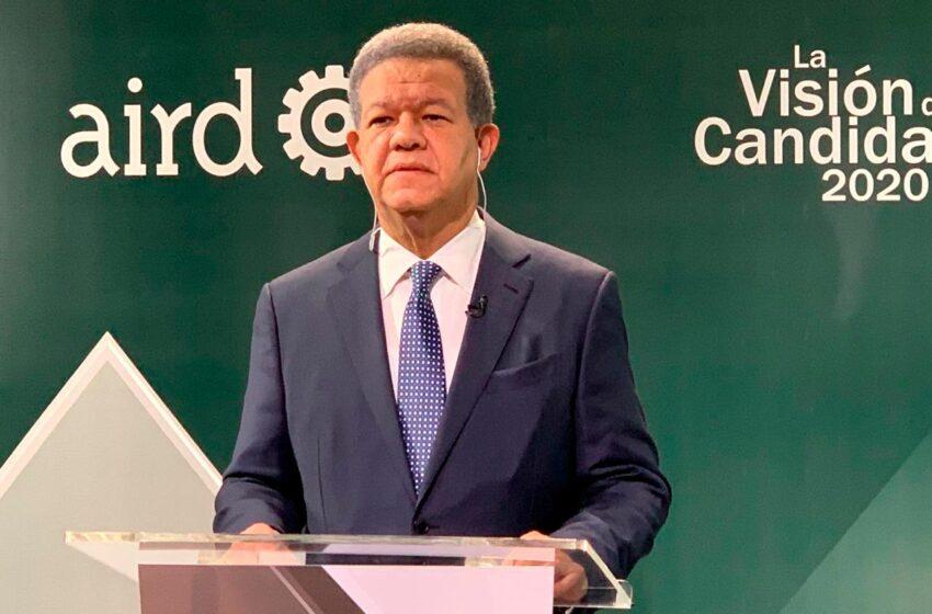 Estas son las propuestas de Gobierno presentas por Leonel Fernández