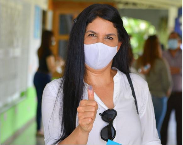 Rosa Amalia Pilarte, vinculada con lavado de activos, es la segunda diputada con más votos de La Vega