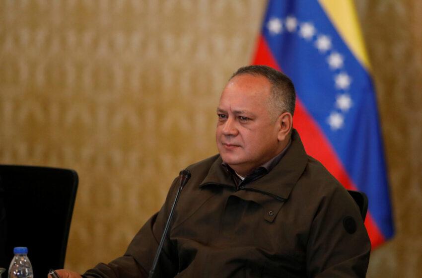 Diosdado Cabello confirma que dio positivo a la prueba de coronavirus