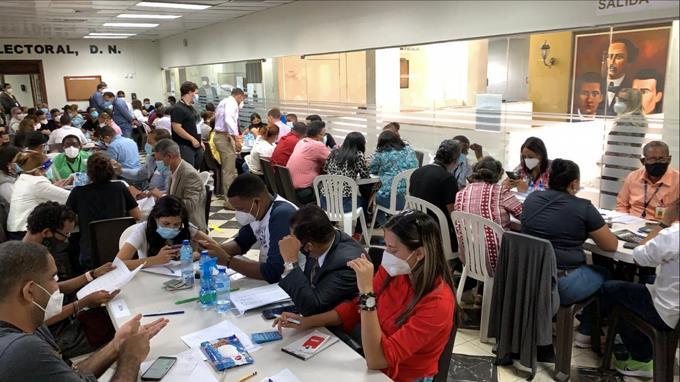 """PLD acusa al PRM de """"boicotear"""" y ralentizar conteos en junta del DN"""