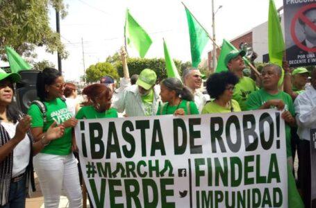 """Marcha Verde advierte que no aceptará """"borrón y cuenta nueva"""""""
