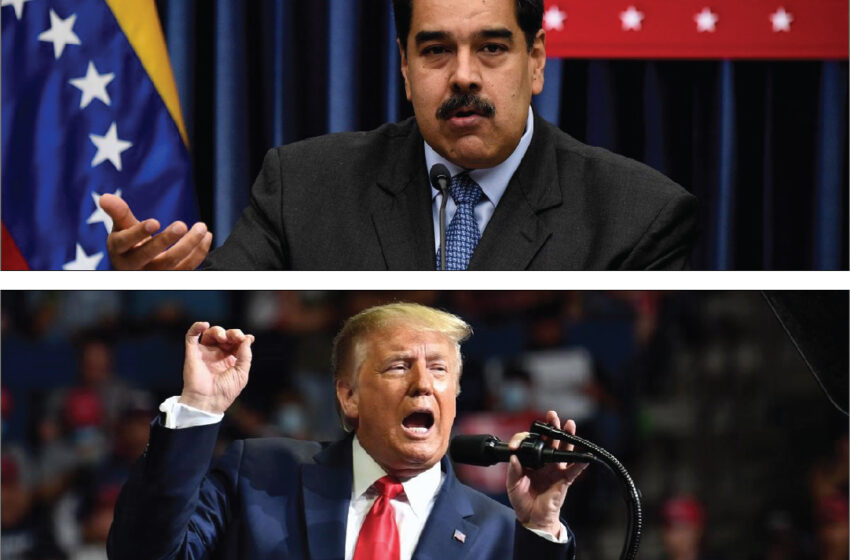 """Trump advierte que """"algo va a pasar con Venezuela"""" y asegura que EE.UU. estará """"muy involucrado"""""""