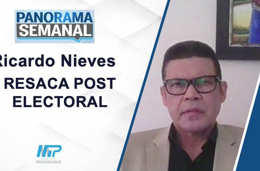 RESACA POST ELECTORAL/ RICARDO NIEVES
