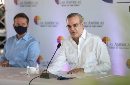 Abinader respalda proyectos de expansión de la Zona Franca Las Américas