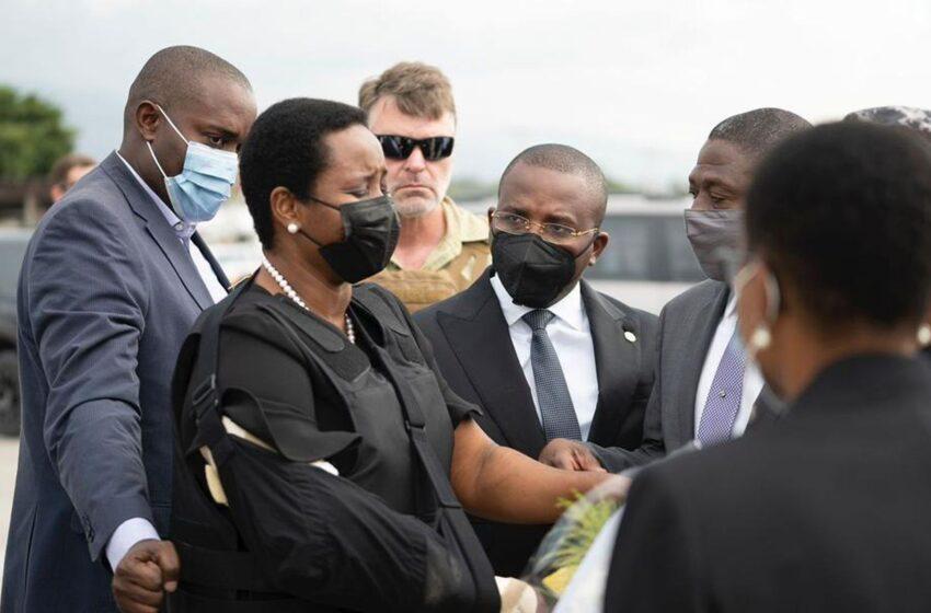 La oficina de la Primera Dama informa que La viuda de Moïse rechaza dinero público para el funeral de Estado
