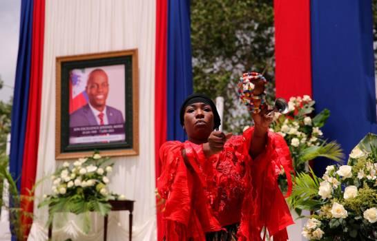 El Gobierno haitiano rinde tributo al asesinado presidente Jovenel Moïse
