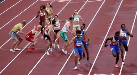 Relevo mixto 4X400 dominicano es recalificado en Juegos Olímpicos, tras presentar recurso