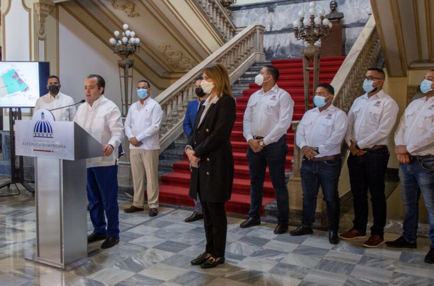 Inician saneamiento y adquisición de los terrenos del Palacio Nacional