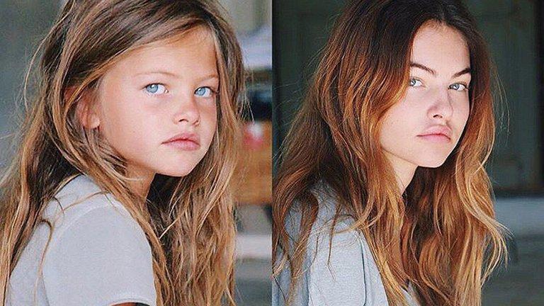 Cómo luce la niña más hermosa del mundo 16 años después de su icónica foto