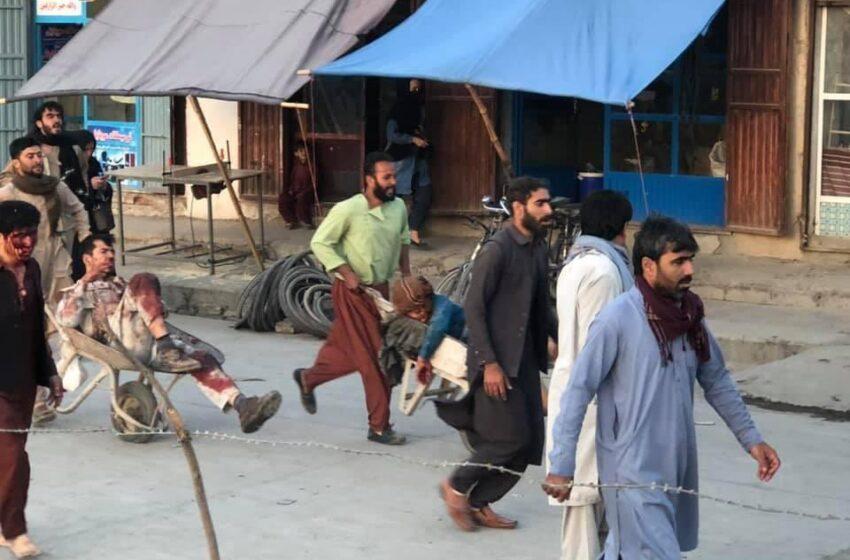 Atentado suicida en el aeropuerto de Kabul con al menos 13 muertos