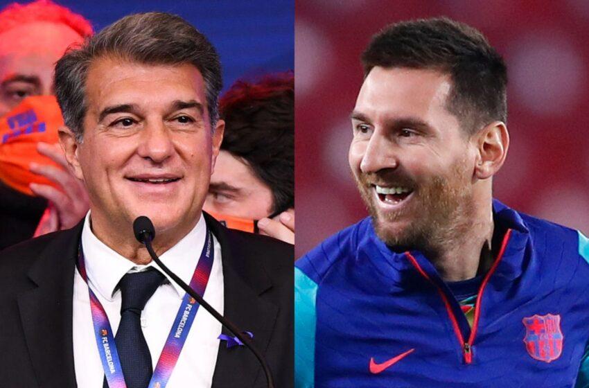 Joan Laporta explica la salida de Lionel Messi: 'El Barcelona está por encima de todo, incluso del mejor jugador del mundo'