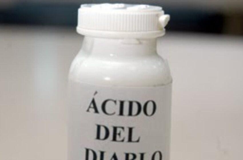 """Pro Consumidor incautará producto denominado """"ácido del diablo"""""""