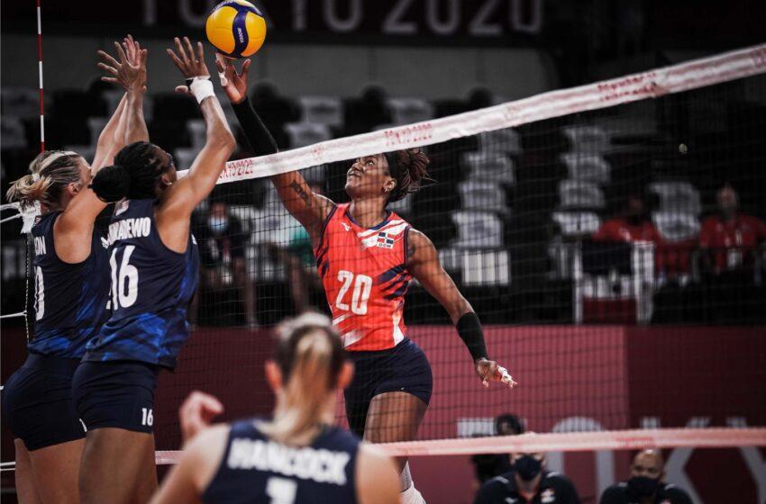 Estados Unidos impide voleibol dominicano avance a semifinal