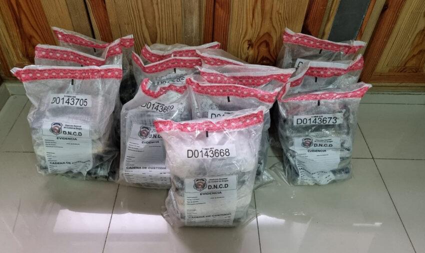 Autoridades ocupan 106 paquetes de drogas en el Puerto San Souci