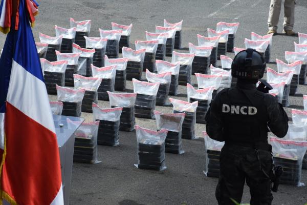 DNCD asegura decomisó más de 30,000 kilos de drogas entre agosto del 2020 y agosto de 2021