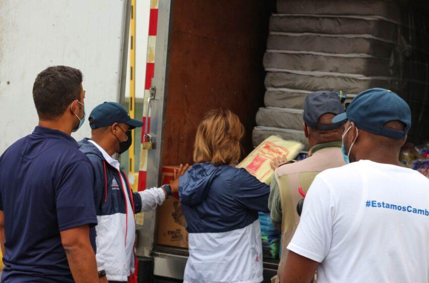 Plan Social prepara kit de emergencia para asistir a familias tras alerta por Tormenta Fred