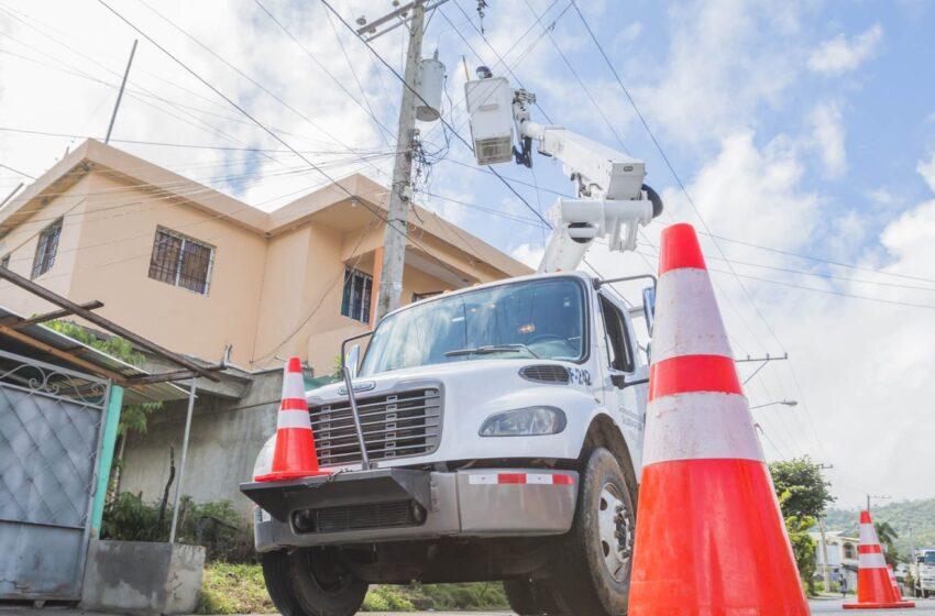 Edesur activa su plan de contingencia ante aviso por tormenta tropical Fred