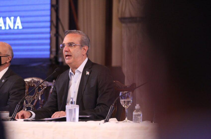 Abinader confirma su participación en próximas rondas del diálogo nacional