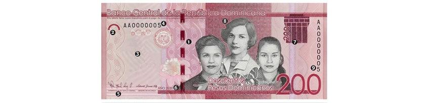 Un nuevo billete de 200 pesos circulará a partir de mañana miércoles