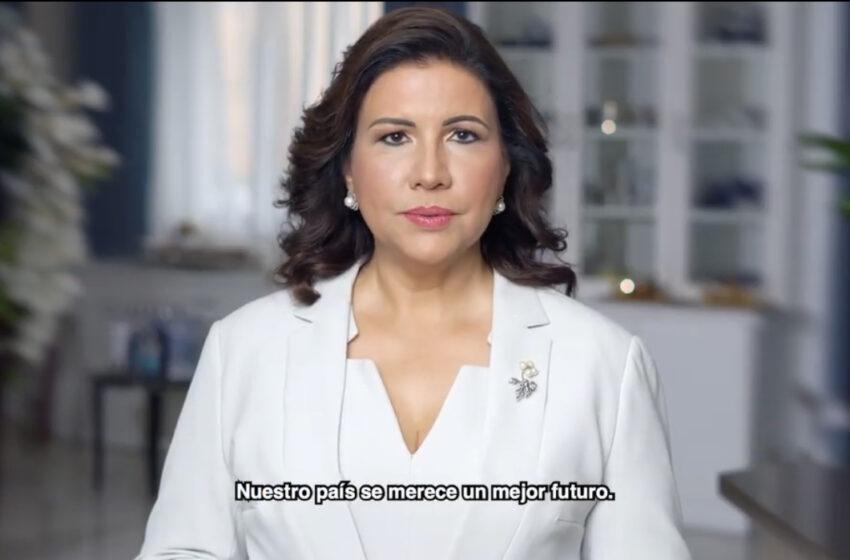"""Margarita lanza su precandidatura presidencial para que """"volvamos a la felicidad"""""""